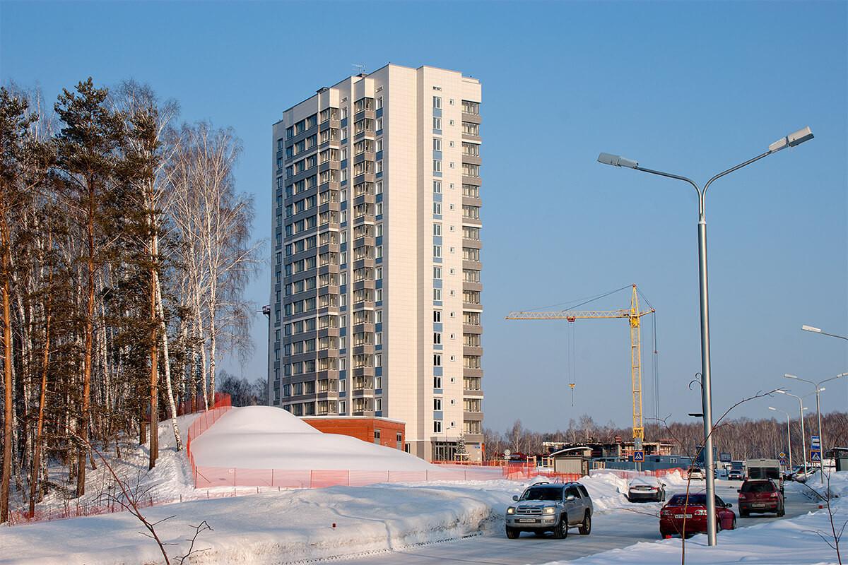 новостройка в Кольцово